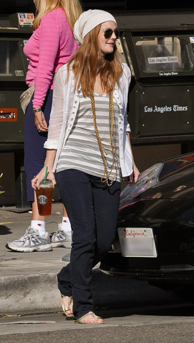 Monday Style File: Drew Barrymore