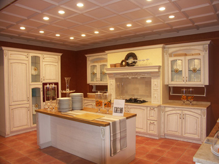 Kitchen Cabinet Doors in Wood and PVC