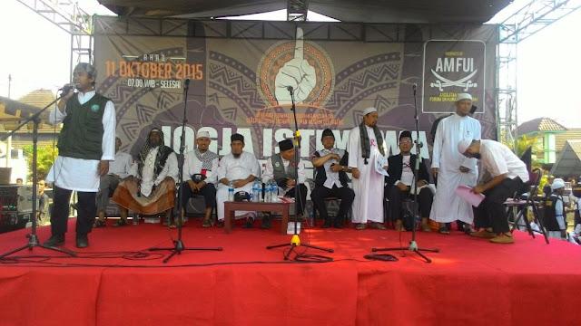 Parade Tauhid Yogyakarta Seru Umat Islam Waspada Bahaya Syiah dan Komunisme