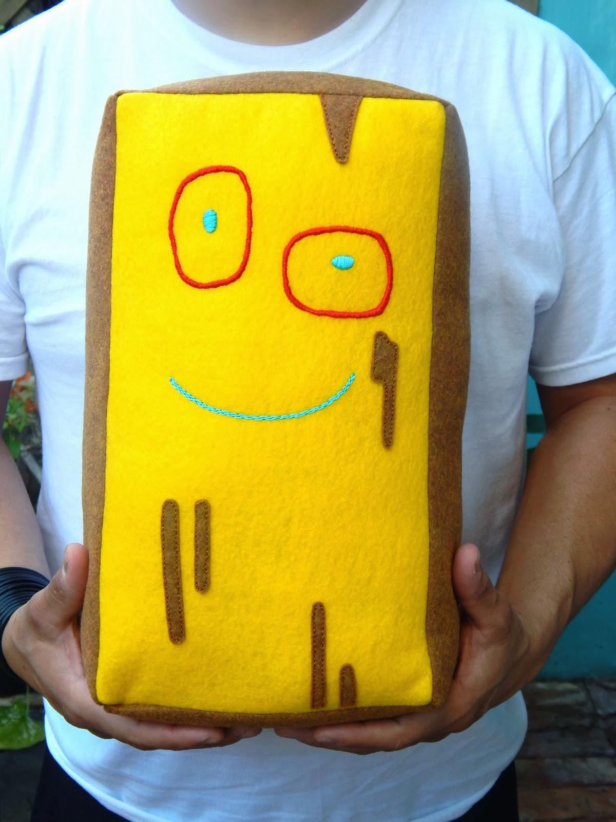 MsBittyKnacks Blog: a plush named plank...