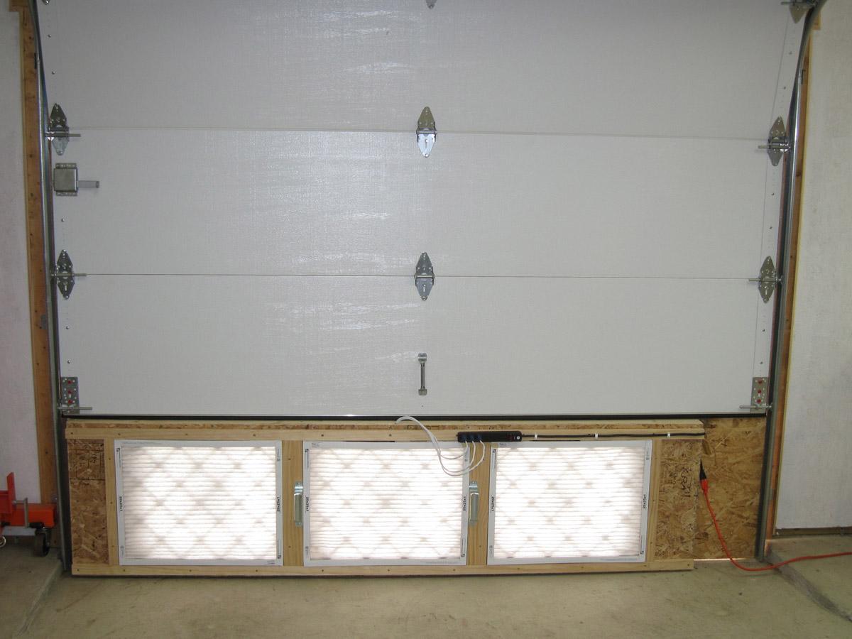 Martins Rv 8 Blog Paint Booth Exhaust Fan Unit Built