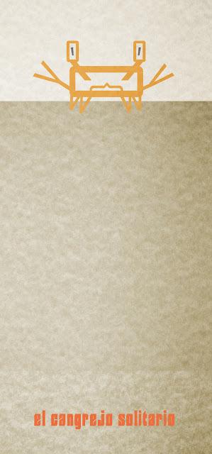 El cangrejo solitario, ilustración y diseño en Sevilla, carbografico