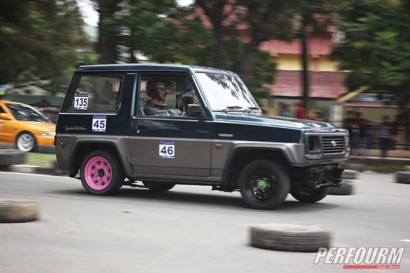 modifikasi mobil feroza drag