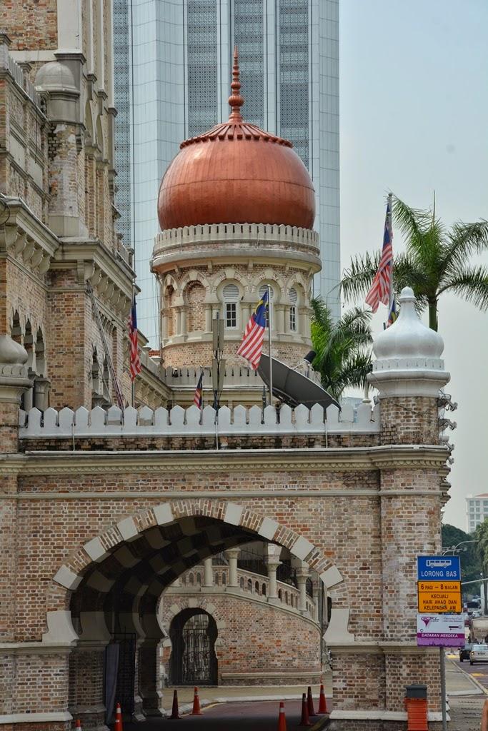 Sultan Abdul Samad building, Kuala Lumpur dome