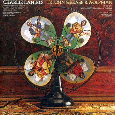 Charlie Daniels - Te John, Grease, & Wolfman 1972 (USA, Country Rock, Southern Rock)