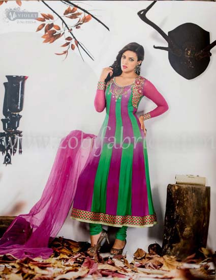 Zobi Fabrics Latest Party Wear Outfits Collection 2013 For girls Women 15 - Zobi Fabrics Latest Party Wear Outfits