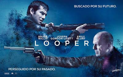 Portada de la película Looper