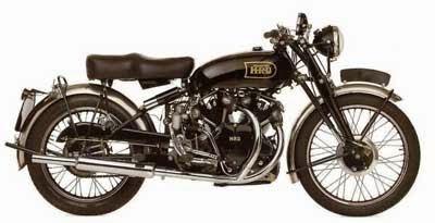 koleksi gambar sepeda motor jadul