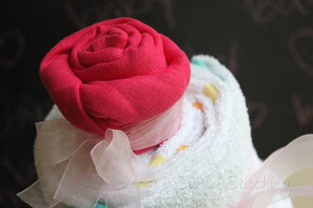 baby muslin rose