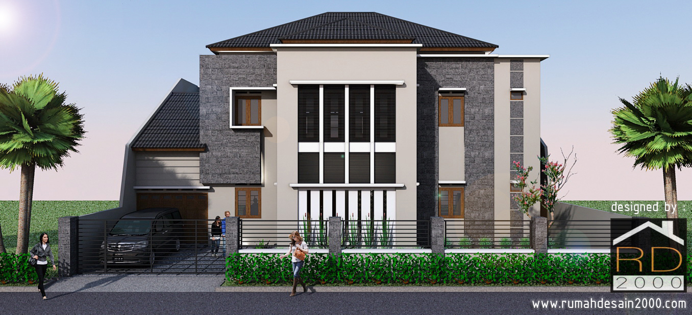 Rumah Desain 2000: Gambar desain rumah mewah model minimalis di