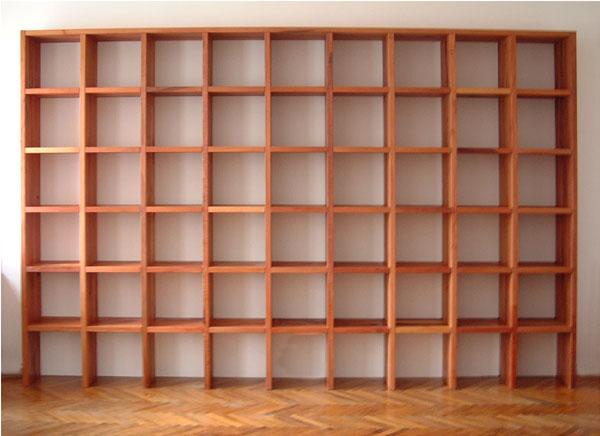 Estantes de madeira para a sua sala : Wood Second Chance