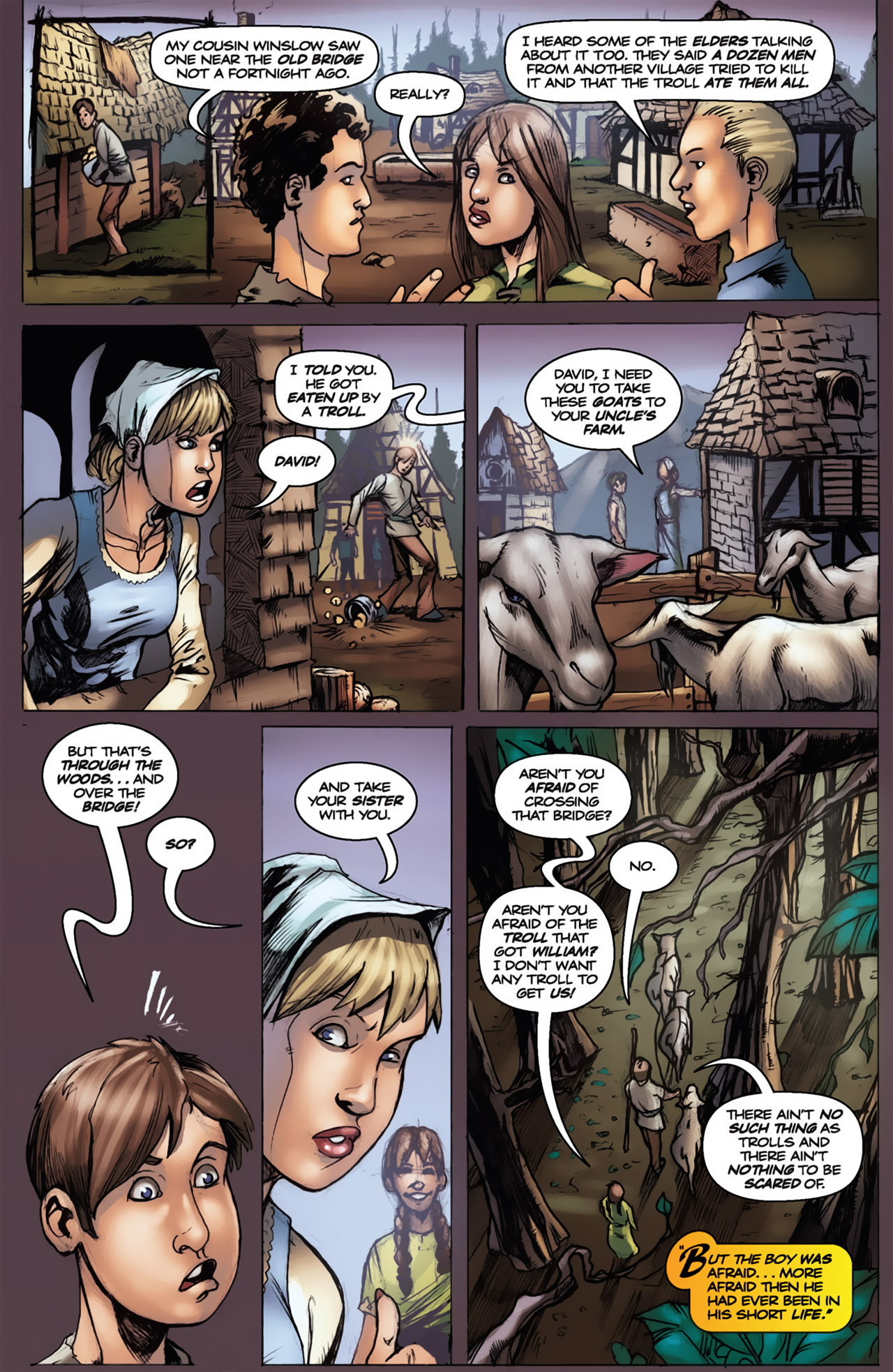 Grimm Fairy Tales (2005) Issue #18 #21 - English 7
