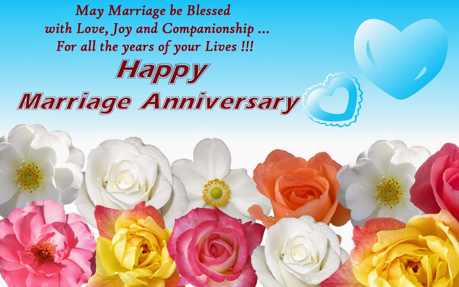 Download st marriage anniversary wishes hd cards