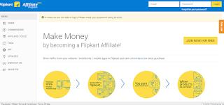 Flipkart New Design, Affiliate panel