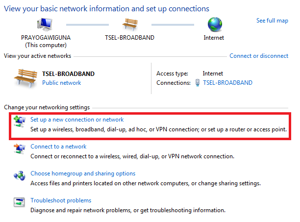 how to set up enblocal.ini