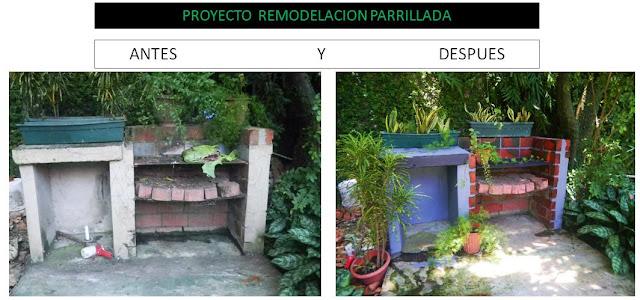 Proyecto remodelando el barbecue for Casa del barbecue