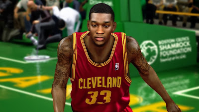 NBA 2K14 Alonzo Gee Cyberface Mod