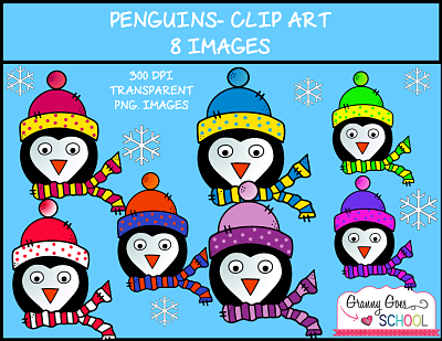 http://www.teacherspayteachers.com/Product/Penguin-Clip-Art-1581855