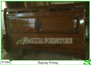 Tempat Tidur / Dipan Klender Bagong Polong