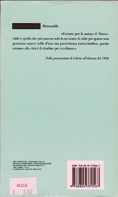 Italo Calvino - Marcovaldo Back Cover