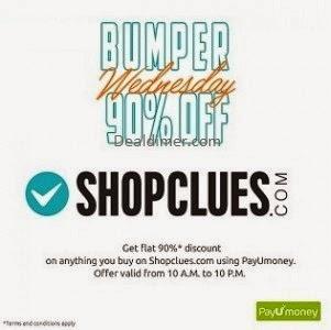 Shopclues-PayUmoney-90-cashback-banner