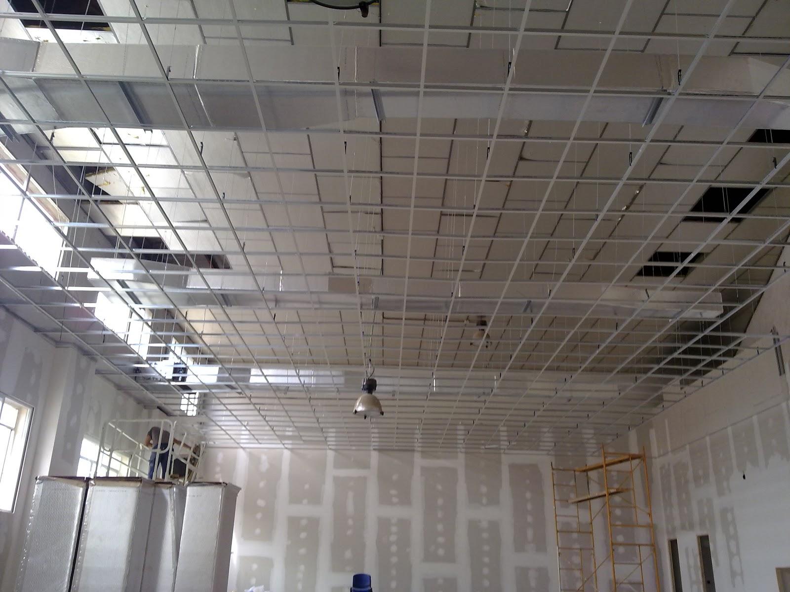 Reformas ba os y cocinas madrid instalaci n de techo for Techos desmontables para banos