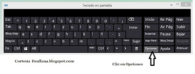 teclado virtual w8