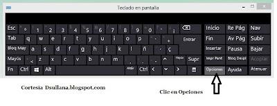 teclado virtual w8