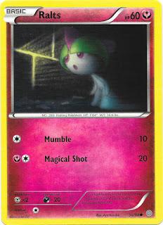Ralts Ancient Origins Pokemon Card