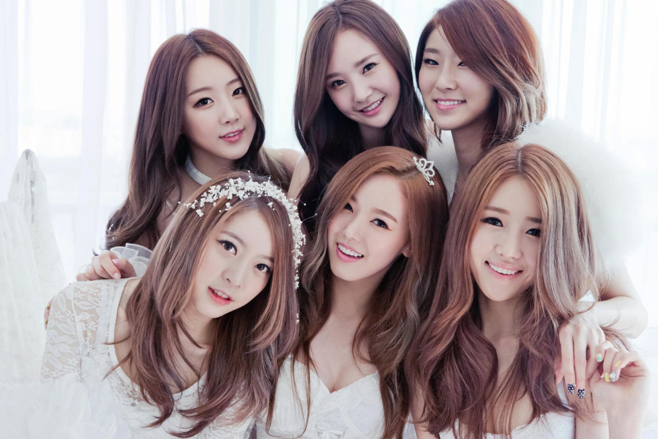 Pop craze korean girl bands