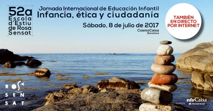 Apunta't a la Jornada Internacional d'Educació Infantil