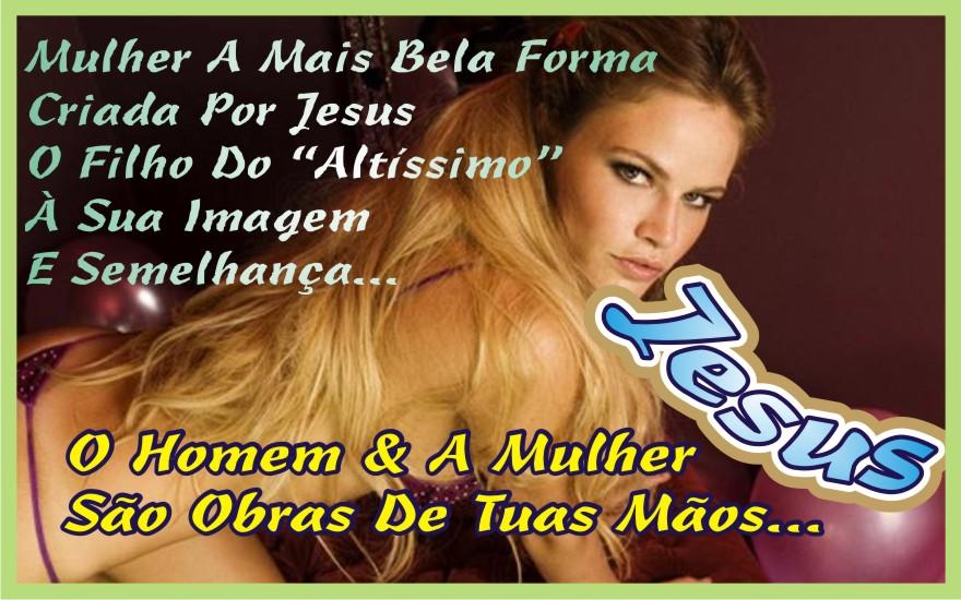 A Beleza Feminina é Obra do Senhor