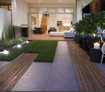 Fotos de terrazas terrazas y jardines marzo 2013 for Small garden design ideas decking