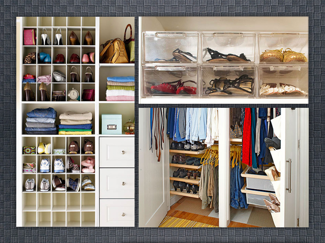 La yaya costurera tipos de armarios para organizar la for Armario para zapatos