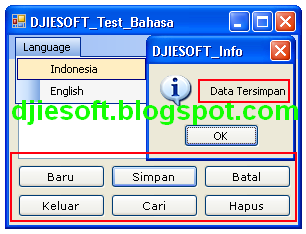 how to write indonesia address in english
