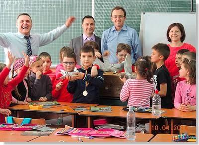 promocion de la colombofilia en las escuelas
