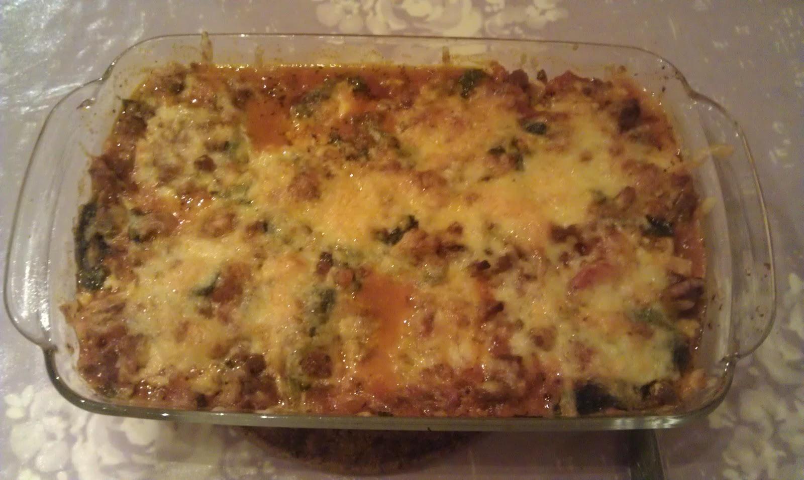 Lavkarbo kjerringa lasagne med cottage cheese for Med cottages
