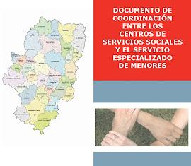COORDINACIÓN ENTRE LOS C. DE SERVICIOS SOCIALES Y EL SERV. ESPECIALIZADO DE MENORES