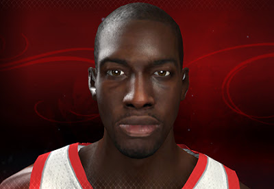 NBA 2K13 J.J. Hickson Cyberface Patch