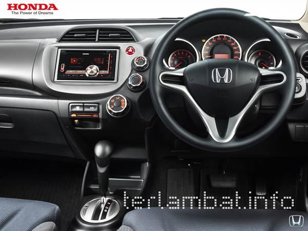 Tampilan Setir Honda Jazz