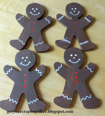 Gingerbread Man  Tutorial