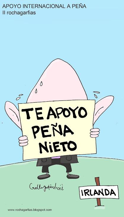 Apoyo Internacional a Peña Nieto.