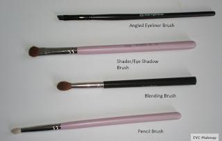 evc makeup makeup 101 beginner basic brushes kit