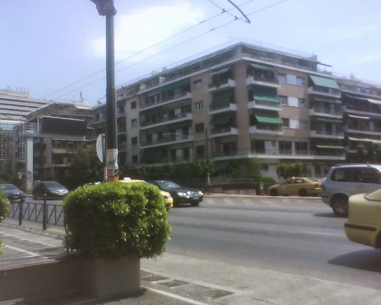athens kifisias  street