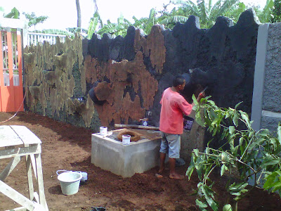 pembuat taman |relief ,tebing ,cadas ,relief air mancur