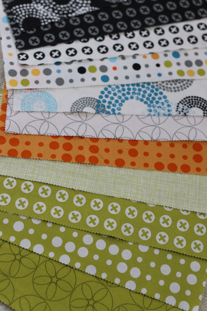 Freshly Pieced Modern Quilts: Reel Time Floor Pillow