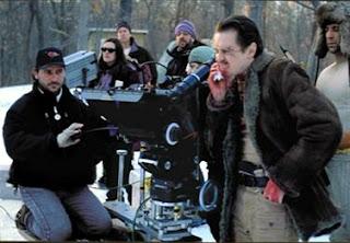 Buscemi en la filmacion de Fargo