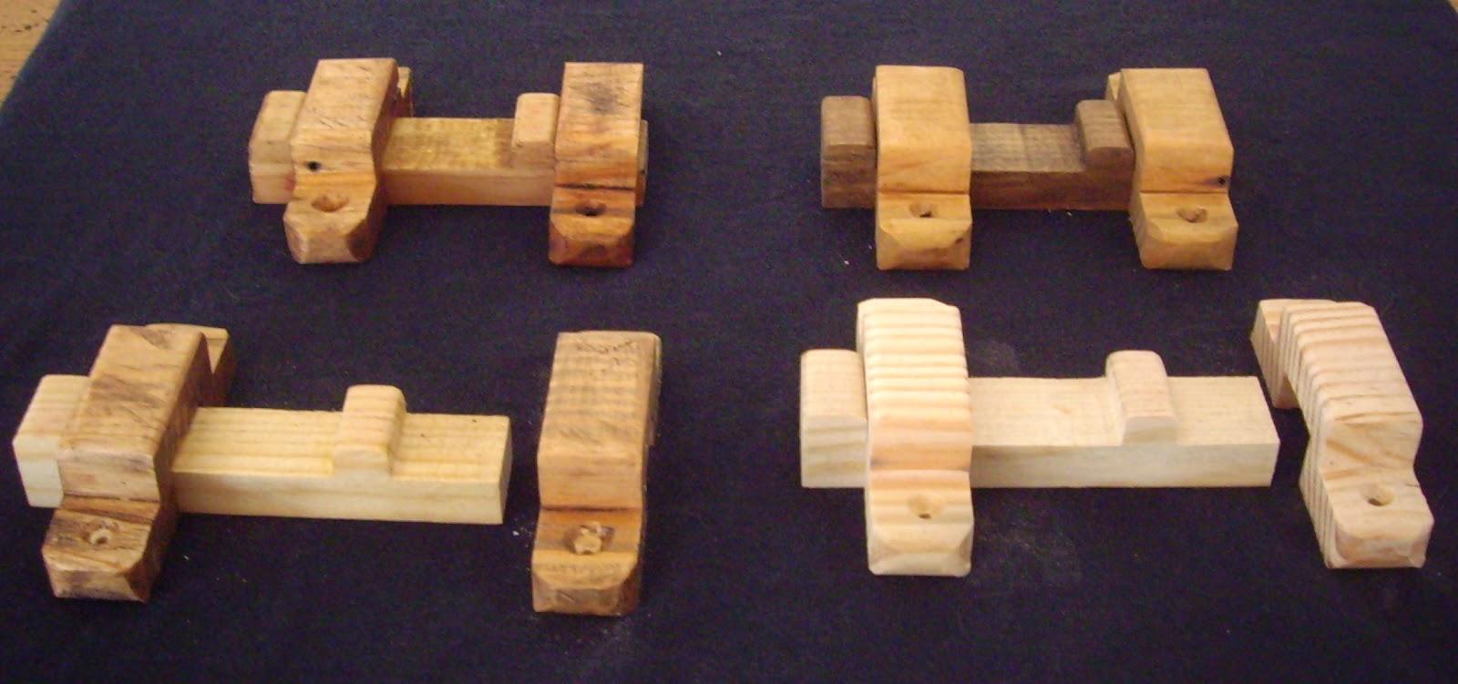 Objets d co tutoriels et meubles en bois de palettes targette verrou en bois - Objet en palette en bois ...