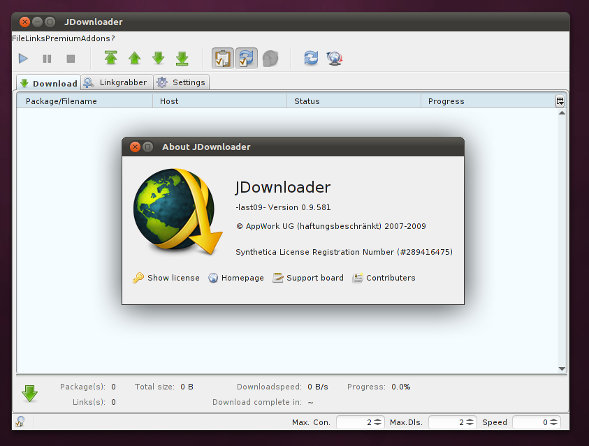 JDownloader: Download accelerator berbasis Java