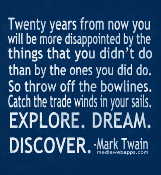 Explore, Dream, Discover....